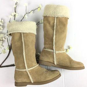 XHilaration | Warm suede winter boots